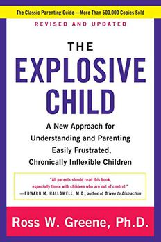 Explosive Child, The book cover