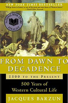 From Dawn to Decadence book cover
