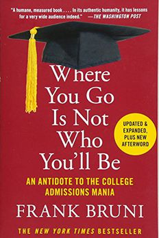 Where You Go Is Not Who You'll Be book cover