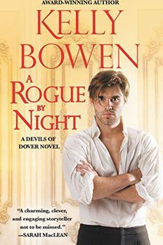 A Rogue by Night book cover