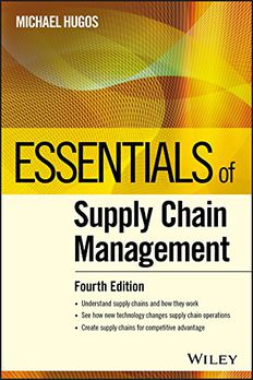 Essentials of Supply Chain Management book cover