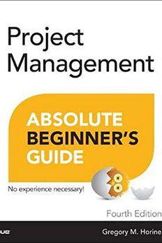 Project Management Absolute Beginner's Guide book cover