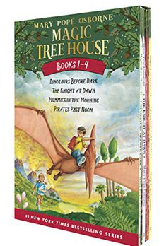 Magic Tree House Boxed Set, Books 1-4 book cover