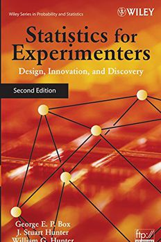 Statistics for Experimenters book cover