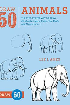 Draw 50 Animals book cover