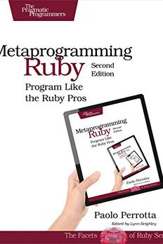 Metaprogramming Ruby book cover