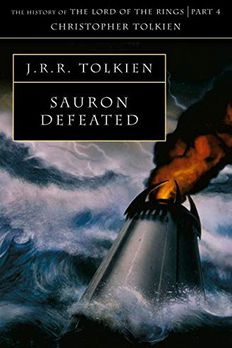 Sauron Defeated book cover