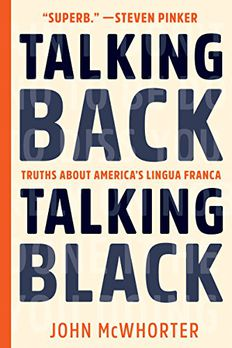 Talking Back, Talking Black book cover