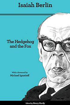 The Hedgehog and the Fox book cover