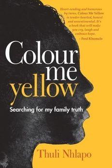 Colour me yellow book cover