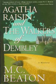 Agatha Raisin and the Walkers of Dembley book cover