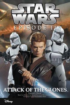Star Wars Episode II book cover