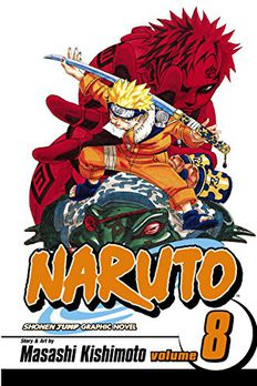 Naruto, Vol. 08 book cover