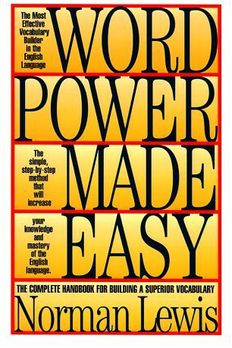 Word power made easy book cover