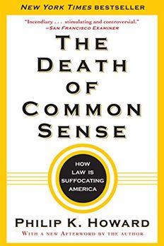 The Death of Common Sense book cover