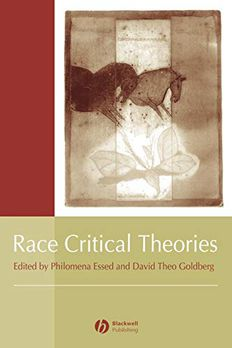 Race Critical Theories book cover
