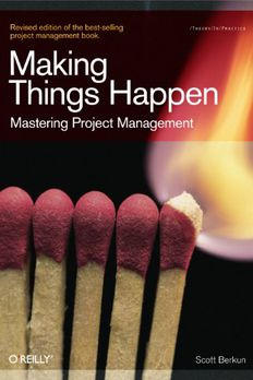 Making Things Happen book cover