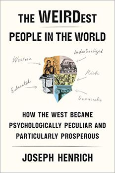 The WEIRDest People in the World book cover