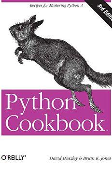 Python Cookbook book cover