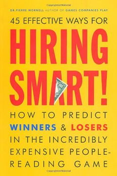 Hiring Smart! book cover