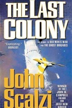 The Last Colony book cover
