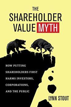 The Shareholder Value Myth book cover