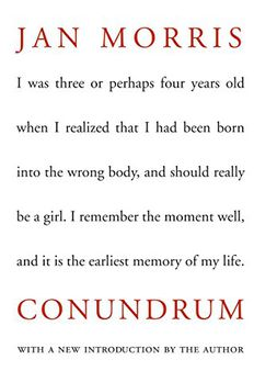 Conundrum book cover