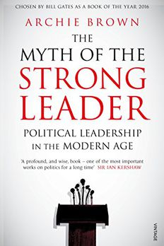 The Myth of the Strong Leader book cover