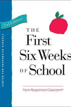 The First Six Weeks of School book cover