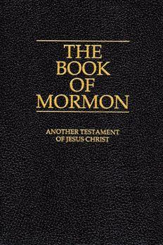 The Book of Mormon book cover