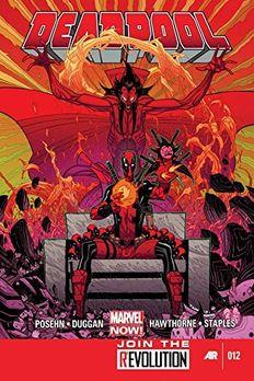 Deadpool (2012) #12 book cover