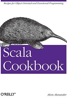 Scala Cookbook book cover