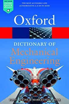Dictionary of Mechanical Engineering book cover