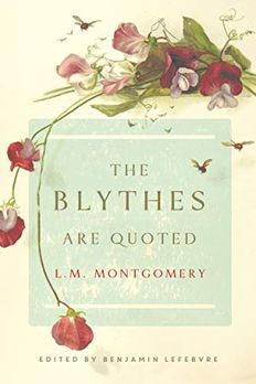 The Blythes Are Quoted book cover