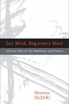 Zen Mind, Beginner's Mind book cover