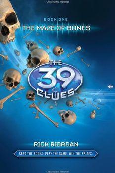 The Maze of Bones book cover