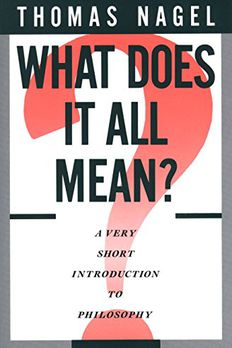What Does It All Mean? book cover