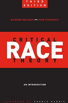 Critical Race Theory book cover