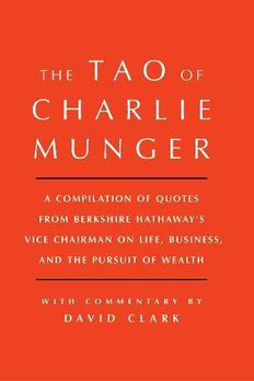 Tao of Charlie Munger book cover