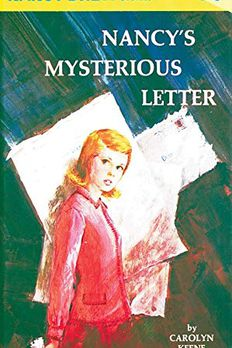 Nancy's Mysterious Letter book cover