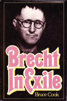 Brecht in Exile book cover