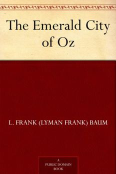 The Emerald City of Oz book cover
