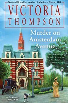 Murder on Amsterdam Avenue book cover