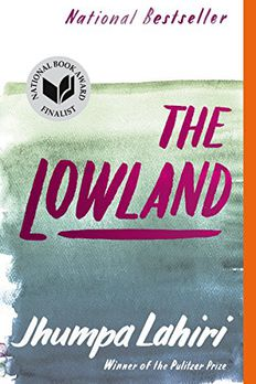 The Lowland book cover