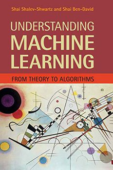 Understanding Machine Learning book cover