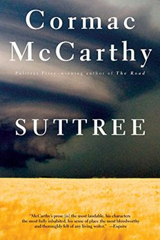 Suttree book cover