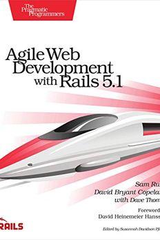 Agile Web Development with Rails 5.1 book cover