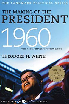 The Making of the President 1960 book cover