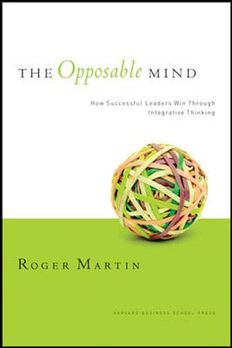 The Opposable Mind book cover