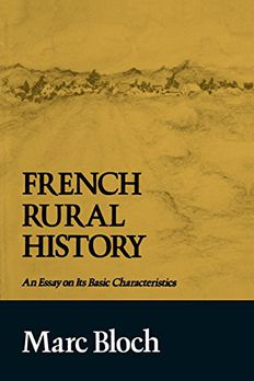 French Rural History book cover